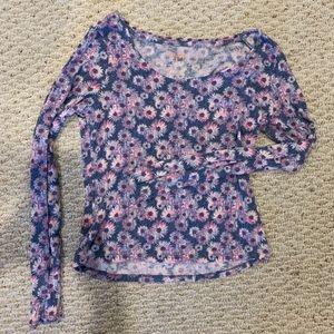 daisy long sleeve top